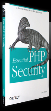 Essential PHP Security Book Cover